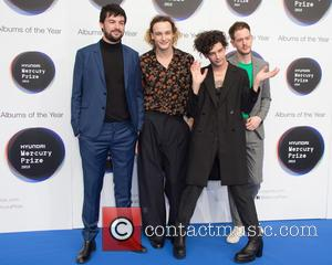 The 1975 seen on the red carpet at the 2016 Mercury Prize London, United Kingdom - Thursday 15th September 2016
