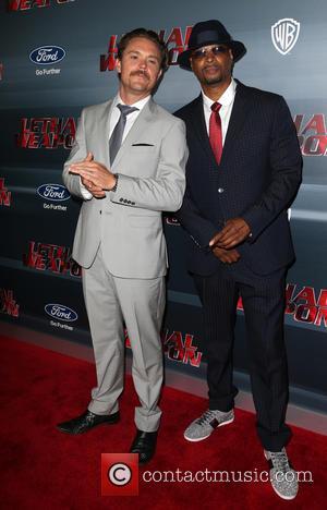 Clayne Crawford, Damon Wayans and Jr.