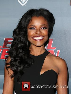 Keesha Sharp posing alone and with McG at the screening and premiere party of Fox's 'Lethal Weapon' held at NeueHouse...