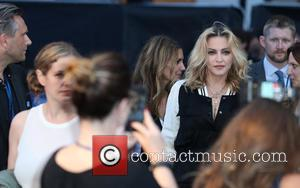 Madonna attends The Beatles Eight Days a Week: The Touring Years world film premiere in London, United Kingdom - Thursday...