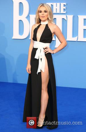 Tallia Storm seen at the 'The Beatles: Eight Days a Week' World Premiere held at Leicester Square, London, United Kingdom...