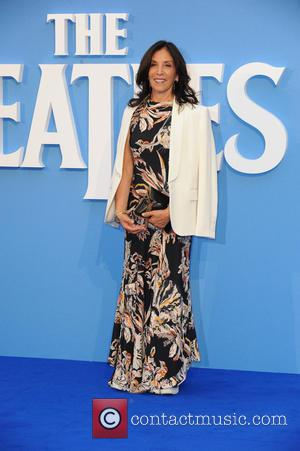 Olivia Harrison seen at the 'The Beatles: Eight Days a Week' World Premiere held at Leicester Square, London, United Kingdom...