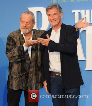 Terry Gilliam and Michael Palin