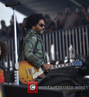 Lenny Kravitz seen performing at the KAABOO Music Festival 2016 on the second day of the event held in Del...