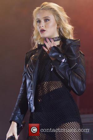 Zara Larsson performing live in front of 20,000 fans at Liseberg amusement park in Gothenburg, Sweden - Saturday 17th September...