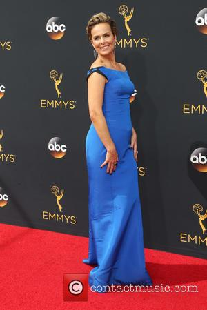 Melora Hardin seen on the red carpet at the 68th Annual Primetime Emmy Awards held at the Microsoft Theater Los...