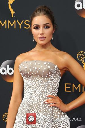 Olivia Culpo seen on the red carpet at the 68th Annual Primetime Emmy Awards held at the Microsoft Theater Los...
