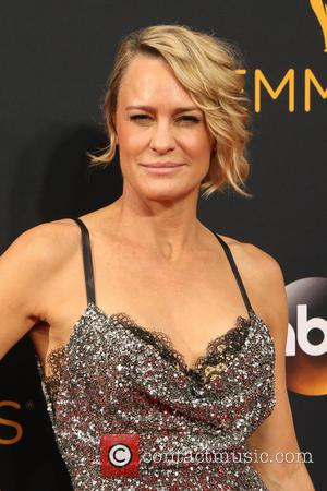 Robin Wright seen on the red carpet at the 68th Annual Primetime Emmy Awards held at the Microsoft Theater Los...