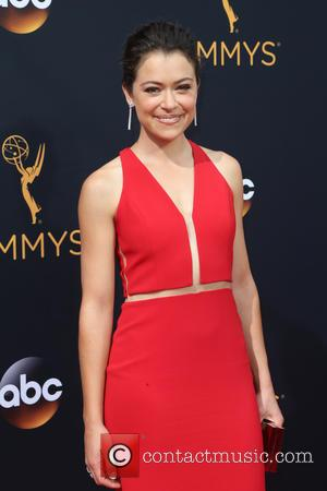 Tatiana Maslany seen on the red carpet at the 68th Annual Primetime Emmy Awards held at the Microsoft Theater Los...