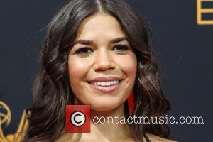 America Ferrera seen on the red carpet at the 68th Annual Primetime Emmy Awards held at the Microsoft Theater Los...