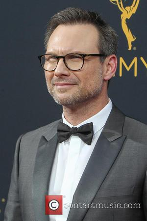 Christian Slater seen on the red carpet at the 68th Annual Primetime Emmy Awards held at the Microsoft Theater Los...