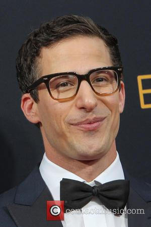 Andy Samberg seen on the red carpet at the 68th Annual Primetime Emmy Awards held at the Microsoft Theater Los...