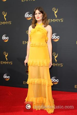 Mandy Moore seen on the red carpet at the 68th Annual Primetime Emmy Awards held at the Microsoft Theater Los...