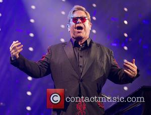 Sir Elton John performs live at the Apple Music Festival 2016 held at Camden's Roundhouse, - London, United Kingdom -...