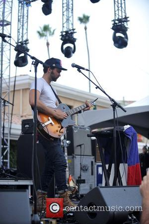 Shakey Graves perform on the Trestles stage during the 2016 KAABOO Del Mar music festival held at the Del Mar...