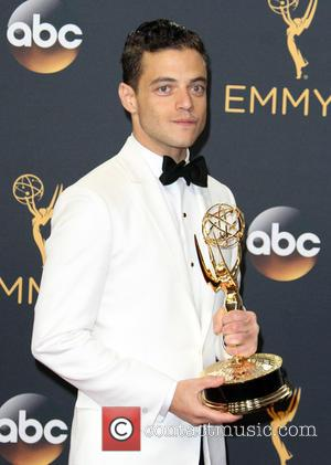Rami Malek in the press room at the 68th Emmy Awards held at the Microsoft Theater, Los Angeles, California, United...