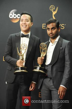 Alan Yang and Aziz Ansari