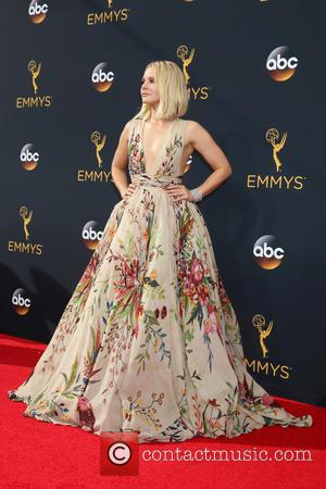 Kristen Bell seen on the red carpet at the 68th Annual Primetime Emmy Awards held at the Microsoft Theater Los...