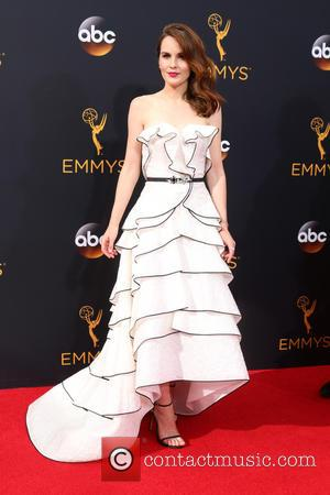 Michelle Dockery seen on the red carpet at the 68th Annual Primetime Emmy Awards held at the Microsoft Theater Los...