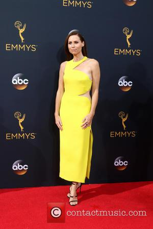 Minnie Driver seen on the red carpet at the 68th Annual Primetime Emmy Awards held at the Microsoft Theater Los...