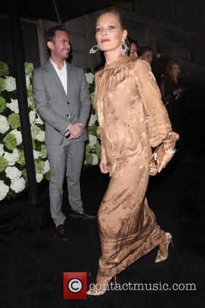 Kate Moss arriving at the 4th Annual #BoF500 Dinner (The Business of Fashion) - London, United Kingdom - Monday 19th...