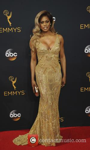 Laverne Cox seen on the red carpet at the 68th Annual Primetime Emmy Awards held at the Microsoft Theater Los...