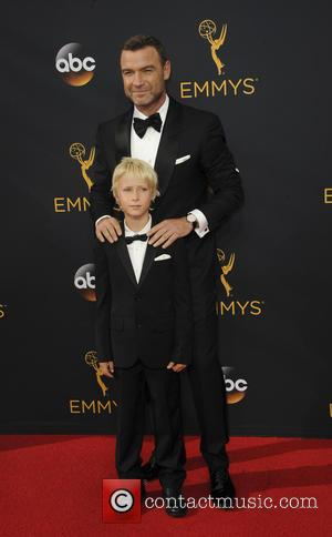 Liev Schreiber seen on the red carpet at the 68th Annual Primetime Emmy Awards held at the Microsoft Theater Los...