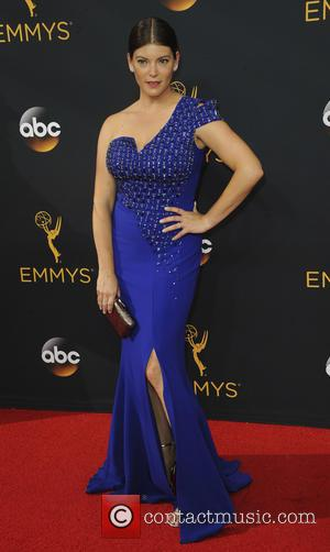 Gail Simmons seen on the red carpet at the 68th Annual Primetime Emmy Awards held at the Microsoft Theater Los...