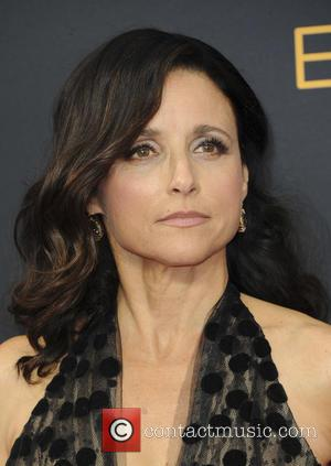 Julia Louis-Dreyfus seen on the red carpet at the 68th Annual Primetime Emmy Awards held at the Microsoft Theater Los...