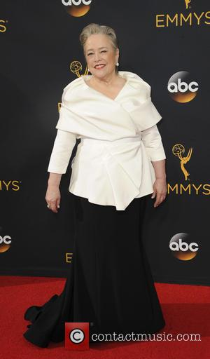 Kathy Bates seen on the red carpet at the 68th Annual Primetime Emmy Awards held at the Microsoft Theater Los...