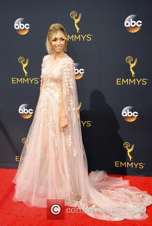 Giuliana Rancic seen on the red carpet at the 68th Annual Primetime Emmy Awards held at the Microsoft Theater Los...