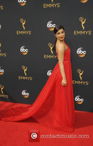 Priyanka Chopra seen on the red carpet at the 68th Annual Primetime Emmy Awards held at the Microsoft Theater Los...