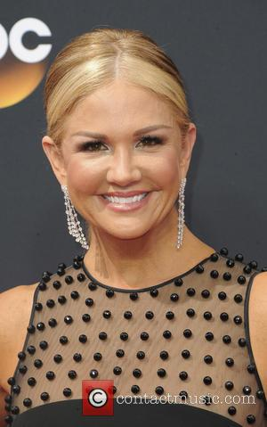 Nancy O'Dell seen on the red carpet at the 68th Annual Primetime Emmy Awards held at the Microsoft Theater Los...