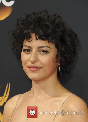 Alia Shawkat seen on the red carpet at the 68th Annual Primetime Emmy Awards held at the Microsoft Theater Los...