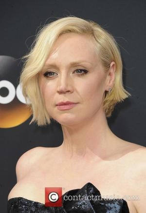 Gwendoline Christie seen on the red carpet at the 68th Annual Primetime Emmy Awards held at the Microsoft Theater Los...