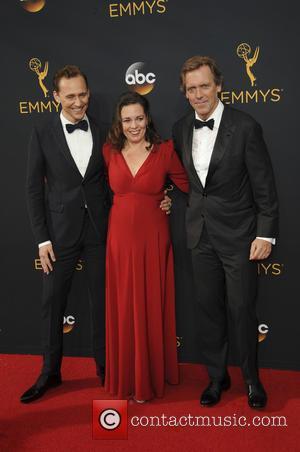 Hugh Laurie, Tom Hiddleston and Olivia Colman