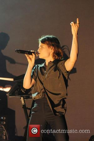 Heloise Letissier of Christine and the Queens performing live in concert as part of the Apple Music Festival held at...