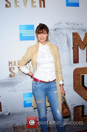 Carol Alt attending the New York premiere of 'The Magnificent Seven' held at the Museum of Modern Art in New...