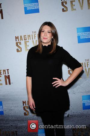 Michelle Collins attending the New York premiere of 'The Magnificent Seven' held at the Museum of Modern Art in New...