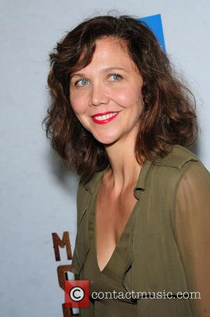 Maggie Gyllenhaal attending the New York premiere of 'The Magnificent Seven' held at the Museum of Modern Art in New...