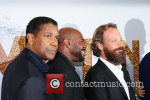 Denzel Washington, Antoine Fuqua and Peter Sarsgaard
