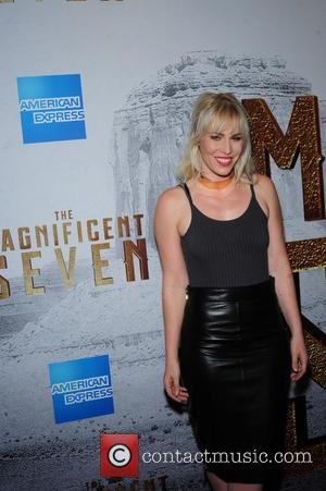 Natasha Bedingfield attending the New York premiere of 'The Magnificent Seven' held at the Museum of Modern Art in New...