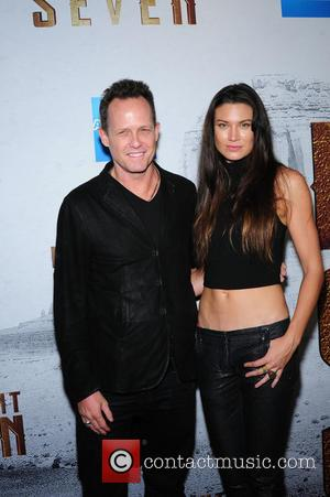 Dean Winters attending the New York premiere of 'The Magnificent Seven' held at the Museum of Modern Art in New...