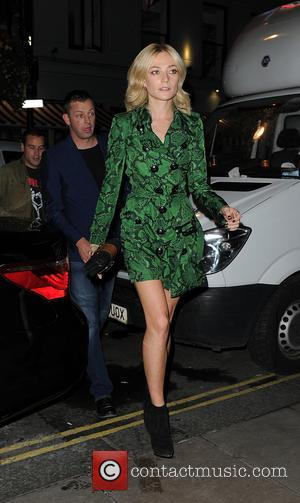 Clara Paget arrives at Soho House for a dinner party after the Burberry Prorsum show - London, United Kingdom -...