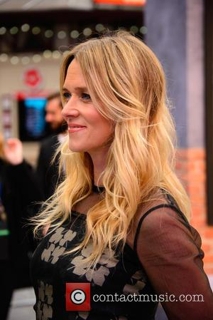 Edith Bowman at the world premiere of 'The Girl on the Train' held at Odeon Cinema, Leicester Square, London, United...