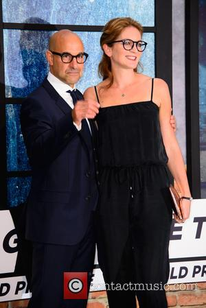 Stanley Tucci at the world premiere of 'The Girl on the Train' held at Odeon Cinema, Leicester Square, London, United...