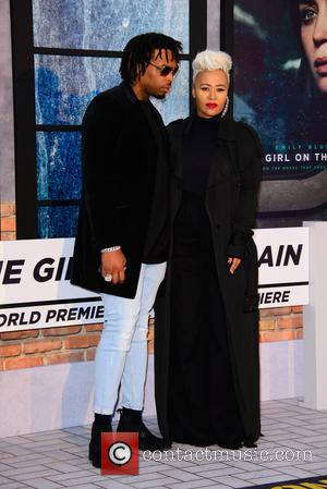 Emeli Sande at the world premiere of 'The Girl on the Train' held at Odeon Cinema, Leicester Square, London, United...