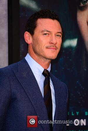 Luke Evans at the world premiere of 'The Girl on the Train' held at Odeon Cinema, Leicester Square, London, United...