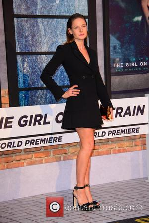 Actress Rebecca Ferguson at the world premiere of 'The Girl on the Train' held at Odeon Cinema, Leicester Square, London,...