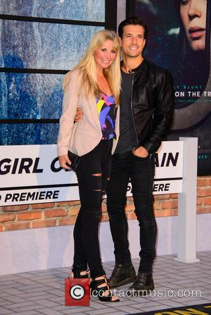 Carley Stenson and Danny Mac at the world premiere of 'The Girl on the Train' held at Odeon Cinema, Leicester...